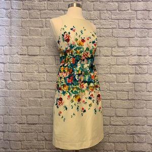 🎉HP🎉 Anthropologie Maeve Tea Garden Floral Dress
